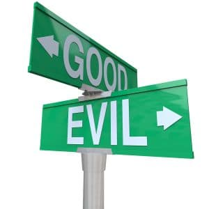 why we do what we do? Good Vs Evil
