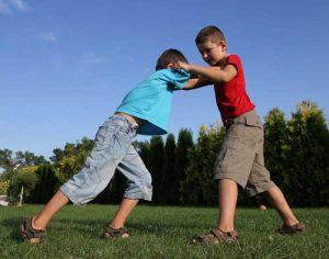 kids fighting bullying