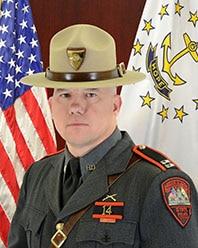 Capt. Derek Borek, director of training at the Rhode Island State Police Department