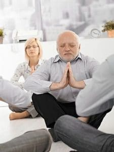 senior citizen yoga